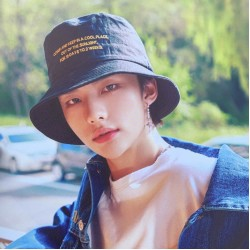 STRAY KIDS HYUNJIN BUCKET ŞAPKA