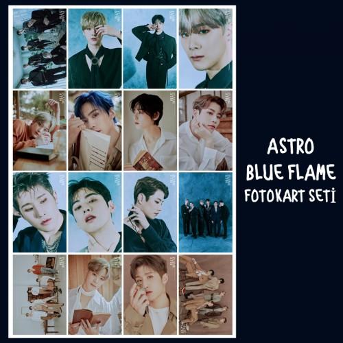 ASTRO BLUE FLAME FOTOKART SETİ