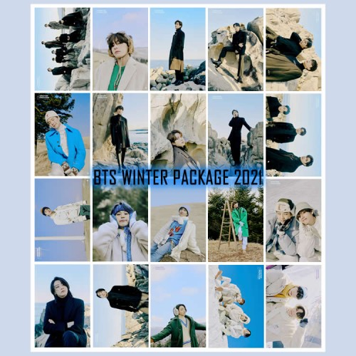 BTS 2021 WINTER PACKAGE FOTOKART SETİ