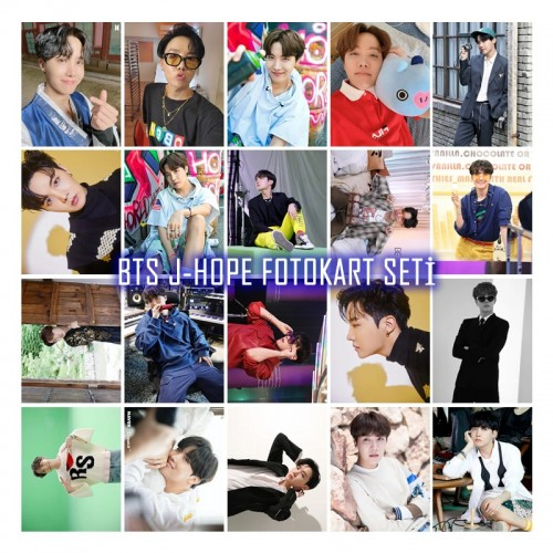 BTS J-HOPE FOTOKART SETİ