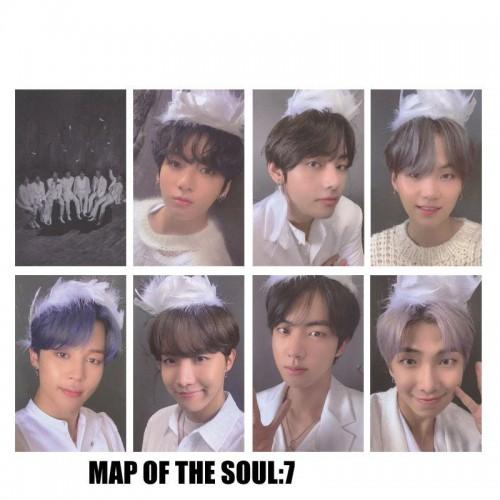 BTS Map of the Soul 7 Albüm Kartları V1