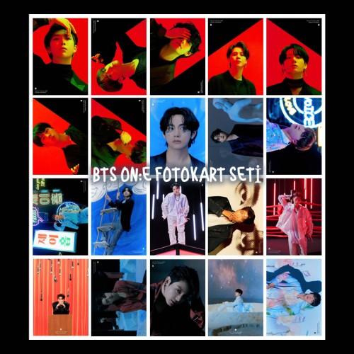 BTS ON:E FOTOKART SETİ