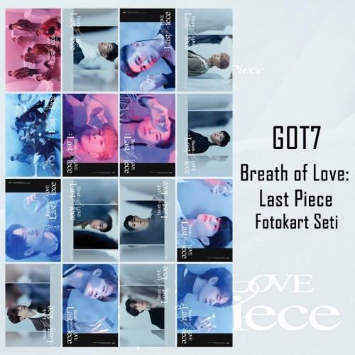 GOT7 BREATH of LOVE: LAST PIECE FOTOKART SETİ