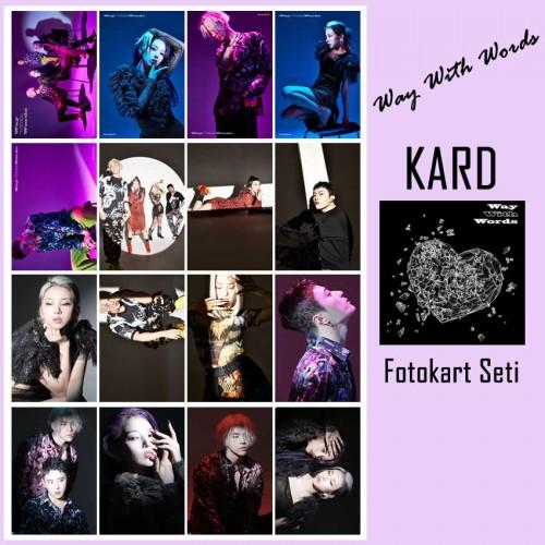 KARD Way With Words Fotokart Seti
