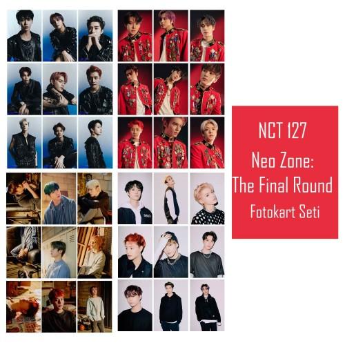 NCT 127 Neo Zone: The Final Round Fotokart Seti