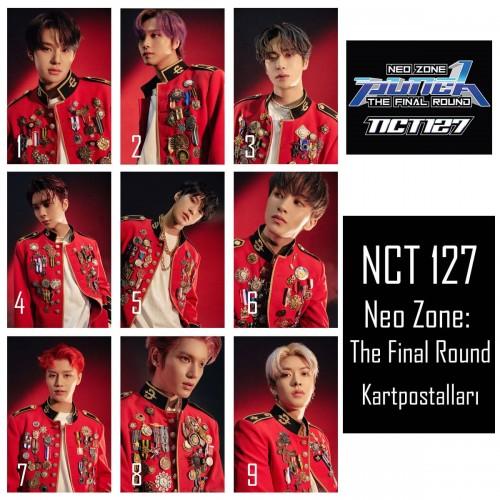 NCT 127 Neo Zone: The Final Round Kartpostalları