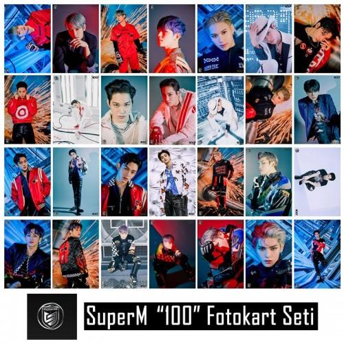 SuperM 100 Fotokart Seti
