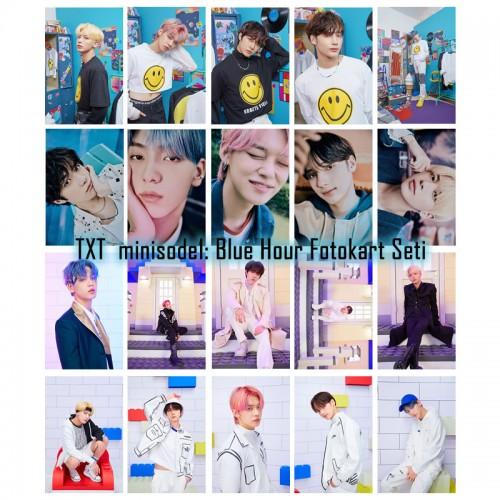 TXT minisode1: Blue Hour Fotokart Seti