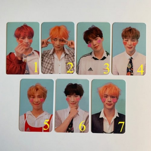 BTS LY ANSWER F VERSİYON FOTOKARTLARI