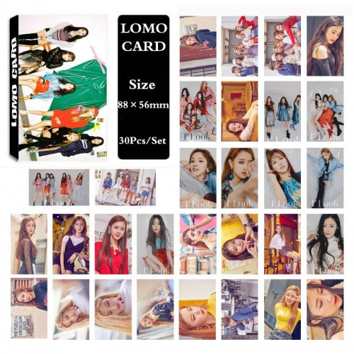 (G)I-DLE Lomo Kart Seti 30'lu