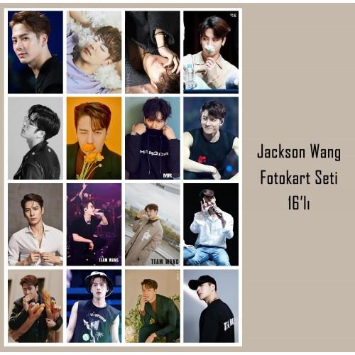 Jackson Wang Fotokart Seti 16'lı