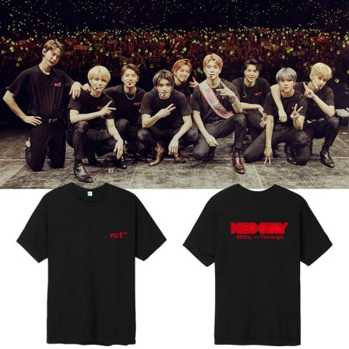 NCT 127 NEO CITY THE ORIGIN T-SHIRT