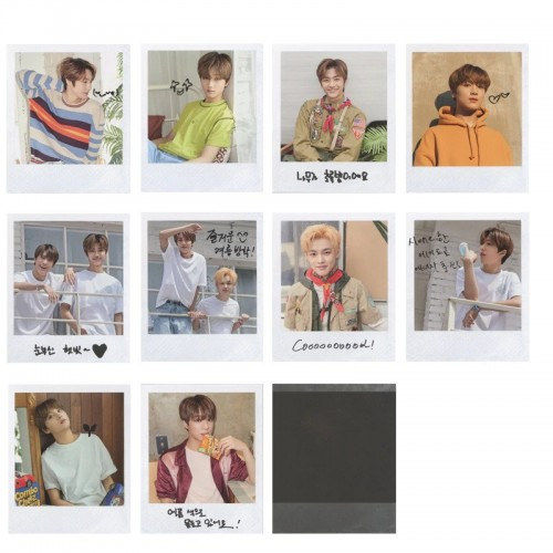 "NCT Dream ""Summer Vacation Kit 2019"" Polaroid Fotokart"