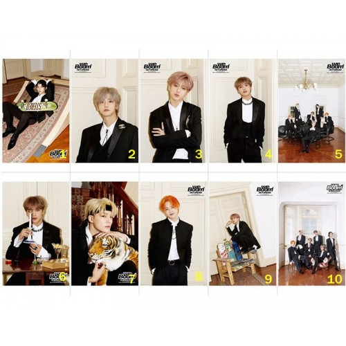 NCT DREAM We Boom Sticker We Versiyon