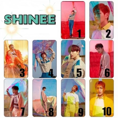 SHINEE STICKER FOTOKARTLARI