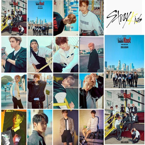 STRAY KIDS Double Knot Fotokart Seti 16'lı