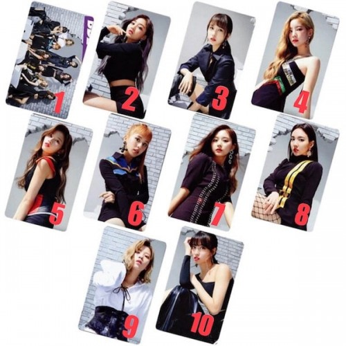 TWICE BDZ STICKER FOTOKART