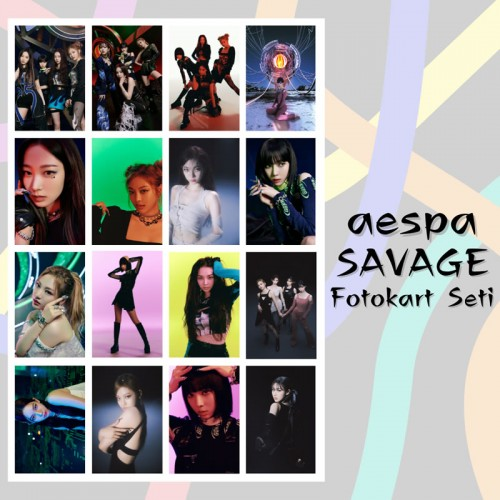 aespa Savage Fotokart Seti 2