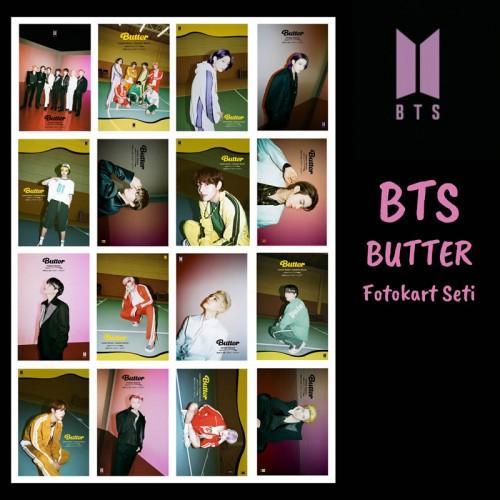 BTS BUTTER FOTOKART SETİ 3