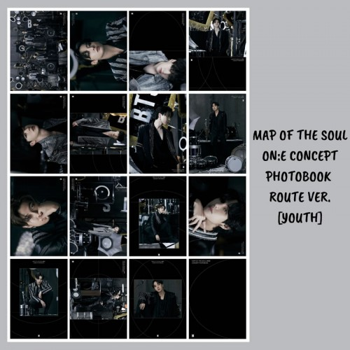 BTS MAP OF THE SOUL ON:E CONCEPT FOTOKART SETİ ROUTE VER. [YOUTH]