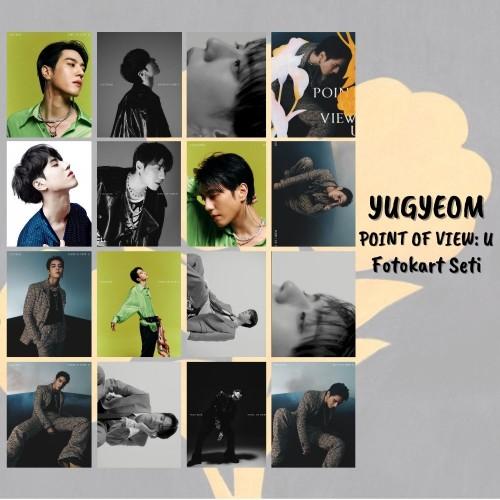 YUGYEOM POINT OF VIEW: U FOTOKART SETİ