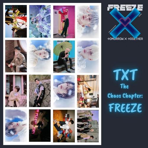 TXT The Chaos Chapter: FREEZE Fotokart Seti