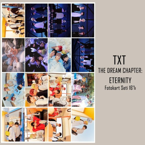 TXT - THE DREAM CHAPTER: ETERNITY Fotokart Seti