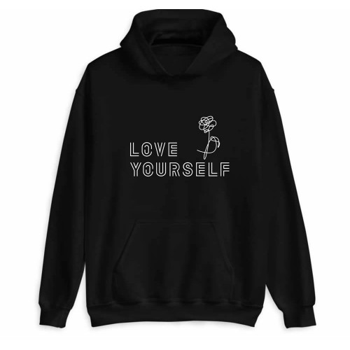 BTS LOVE YOURSELF KAPÜŞONLU SWEATSHIRT