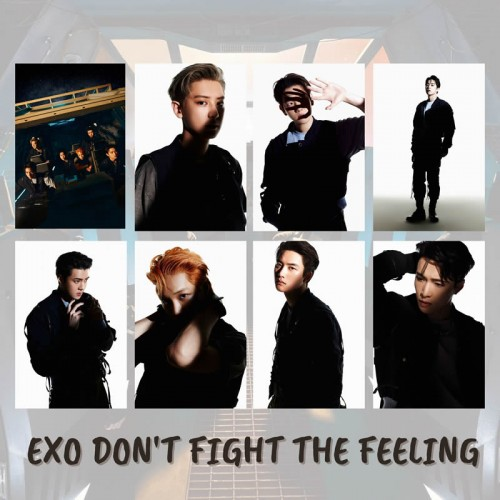 EXO DON'T FIGHT THE FEELING POSTER