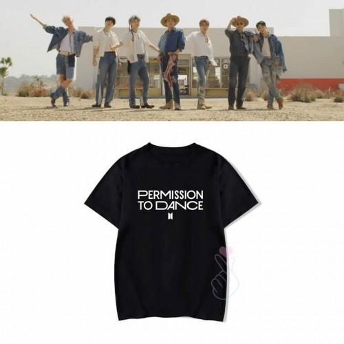 BTS PERMISSION TO DANCE T-SHIRT  2